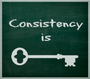 Consistency to Reach Your Goal